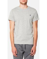 Polo Ralph Lauren - Men's Custom Fit Crew Neck Tshirt - Lyst