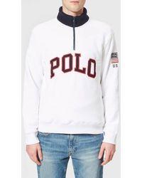 Polo Ralph Lauren - Men's Zip Fleece Jumper - Lyst