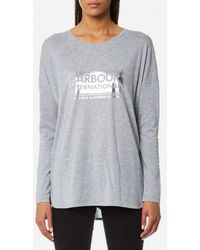 Barbour - Women's Mallory Tshirt - Lyst