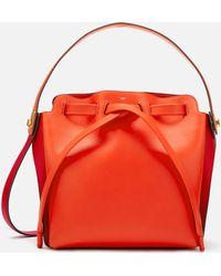 Anya Hindmarch Shoelace Drawstring Mall Bag