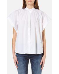 Helmut Lang Short Sleeve Shirt - White