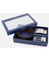 Polo Ralph Lauren - Men's Leather Belt Gift Box - Lyst