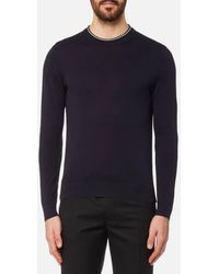 PS by Paul Smith - Men's Crew Neck Knitted Jumper - Lyst