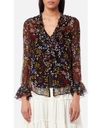 See By Chloé - Women's Floral Nights Blouse - Lyst