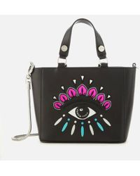 KENZO - Women's Eye Embroidery Tote Bag - Lyst
