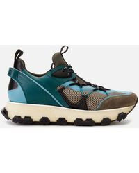 Lanvin New Runner Trainers - Blue
