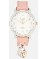 COACH - Women's Delancey Charm Watch - Lyst