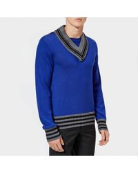 Maison Margiela Wool 12 Gauge Knitted Sweater