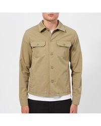 Maison Margiela - Men's Cotton Gabardine Worker Jacket - Lyst