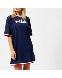 Fila - Women's Drew Mesh Dress With Double Colour Trims - Lyst