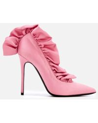 MSGM - Women's Frill Court Shoes - Lyst