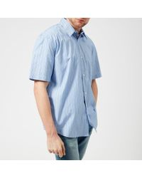 Our Legacy - Men's Initial Short Sleeve Shirt - Lyst