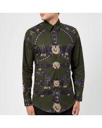 Versus - Men's Printed Shirt - Lyst