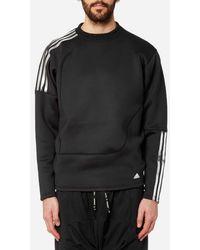 adidas Originals - Men's Spacer Crew Neck Sweatshirt - Lyst
