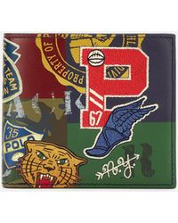 Polo Ralph Lauren - Print Leather Billfold - Lyst