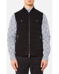 Michael Kors - Men's Quilted Knitted Vest - Lyst