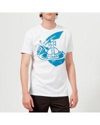 Vivienne Westwood Anglomania - Men's Boxy Logo Tshirt - Lyst