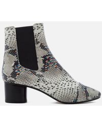 Isabel Marant - Women's Danelya Heeled Chelsea Boots - Lyst