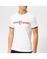 db66b68e0cd Philipp Plein 'Cashflow' T-Shirt in White for Men - Lyst