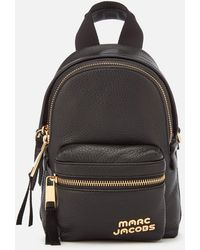 Marc Jacobs - Micro Leather Backpack - Lyst