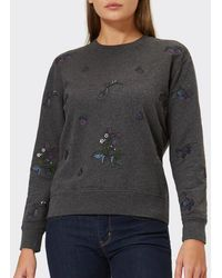 Barbour - Women's Evelyn Embroidered Sweatshirt - Lyst