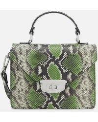 Ganni - Women's Gallery Top Handle Bag - Lyst