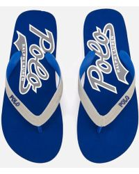 Polo Ralph Lauren - Men's Whittlebury Ii Flip Flops - Lyst