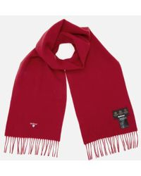 Barbour - Men's Plain Lambswool Scarf - Lyst