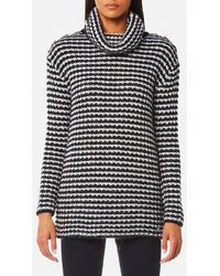 Barbour - Women's Northcoates Knitted Jumper - Lyst