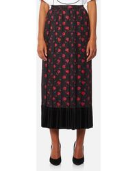 McQ - Women's Pleated Skirt - Lyst