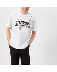 OAMC - Lumières T-shirt - Lyst