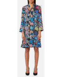 PS by Paul Smith - Women's Enso Floral Tunic Dress - Lyst