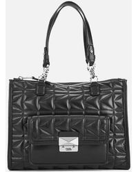 Karl Lagerfeld - Women's K/kuilted Tote Bag - Lyst
