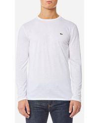 Lacoste   Men's Long Sleeve Tshirt   Lyst