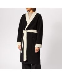 Alexander Wang - Women's Doubleface Robe With Logo - Lyst