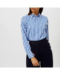 Polo Ralph Lauren - Women's Ramsey Stripe Shirt - Lyst