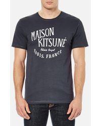 Maison Kitsuné - Men's Palais Royal Tshirt - Lyst