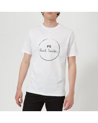 PS by Paul Smith - Men's Short Sleeve Regular Fit Circle Tshirt - Lyst