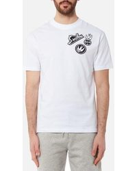 McQ Alexander McQueen | Men's Dropped Shoulder Swallow Tshirt | Lyst