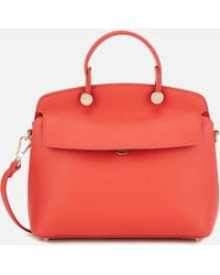 Furla - My Piper Small Top Handle Bag - Lyst