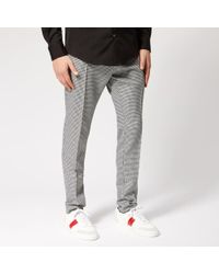 DSquared² - Men's Cigarette Fit Houndstooth Trousers - Lyst