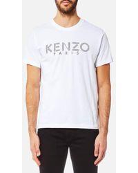 KENZO | Men's Paris Tshirt | Lyst