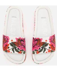 Melissa - 3d Beach Slide Sandals - Lyst