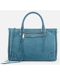 Rebecca Minkoff - Women's Regan Satchel Tote - Lyst