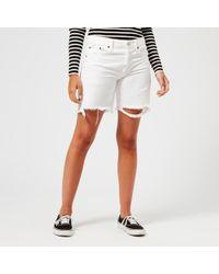 Polo Ralph Lauren - Women's Boyfriend Shorts - Lyst