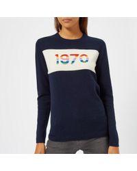 Bella Freud - Women's 1970 Rainbow Cashmere Jumper - Lyst