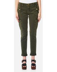 MICHAEL Michael Kors - Women's Dye Cargo Trousers - Lyst