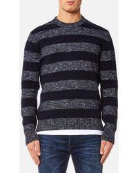 Edwin - Men's Standard Stripes Sweater - Lyst