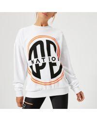 P.E Nation - Women's Turbo Sweatshirt - Lyst