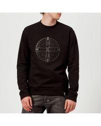 Versace Circle Logo Sweatshirt